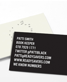 Preview image of Business Card design 'Join the Numbers'