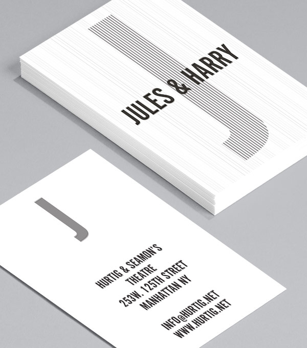 Business Card designs - Jules Hurtig
