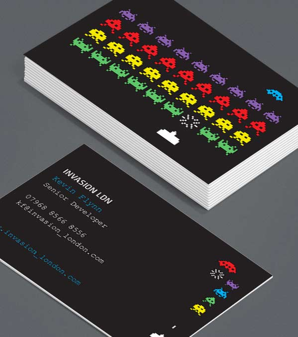 Business Card designs - Aliens