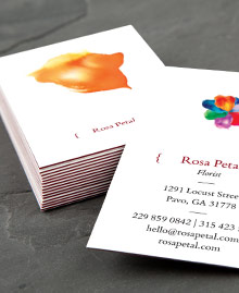 Business Card designs - Petal Power