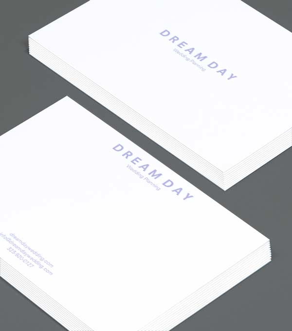 Notecard designs - Dream Day