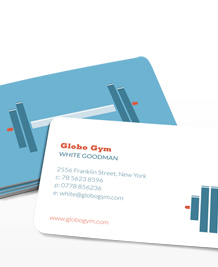Preview image of Business Card design 'Pumping Iron'
