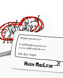 Preview image of Business Card design 'Love by gapingvoid'