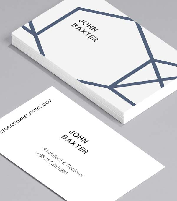 Designs de Cartes de Visite - Hex Appeal