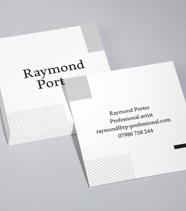 Square Business Card designs - Square Window