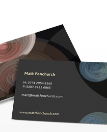 Preview image of Business Card design 'City Storm'
