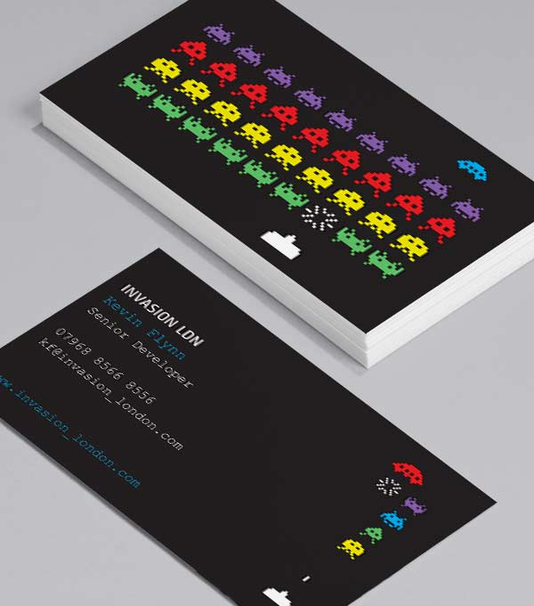 Browse business card design templates moo canada for Game designer business card