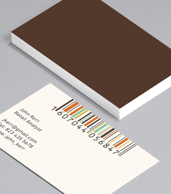 Business Card designs - Minimal Barcodes