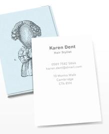 Business Card designs - Wigging It