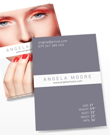 Business Card designs - Model