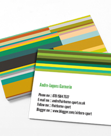 Preview image of Business Card design 'Province Spring'