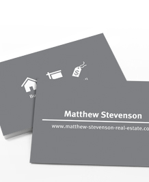 Preview image of Business Card design 'Iconography'