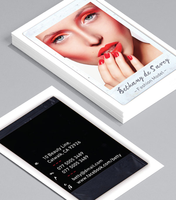 Browse business card design templates moo united states business card designs runway ii colourmoves