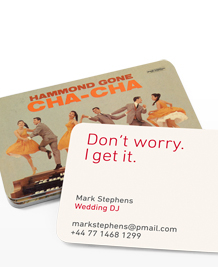 Preview image of Business Card design 'Don't worry, I get it!'
