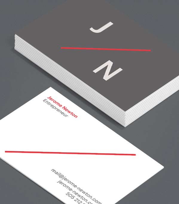 Business Card designs - On Top