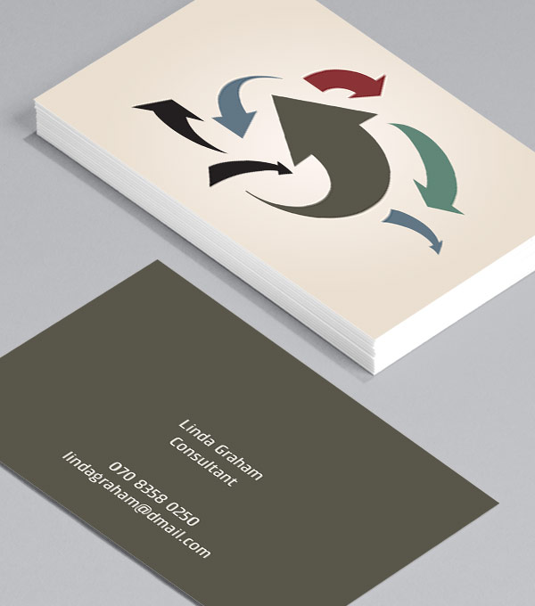 Business Card designs - Moving Arrows
