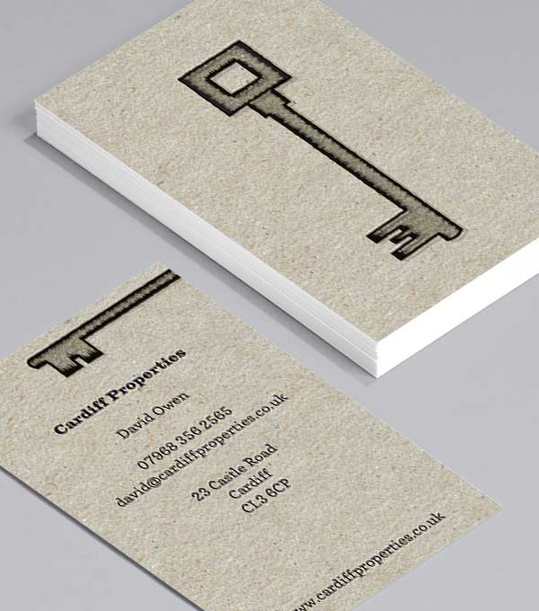 Business Card designs - Seen my keys?
