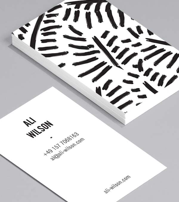 Designs de Cartes de Visite - Stroke of Genius