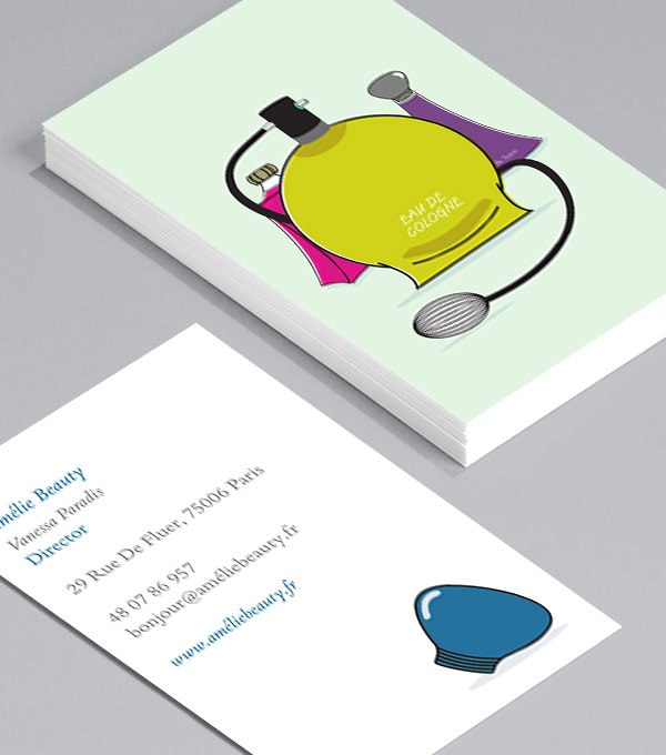 Business Card designs - Eau de Parfum