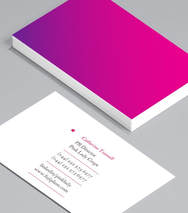 Business Card designs - Pink Lady