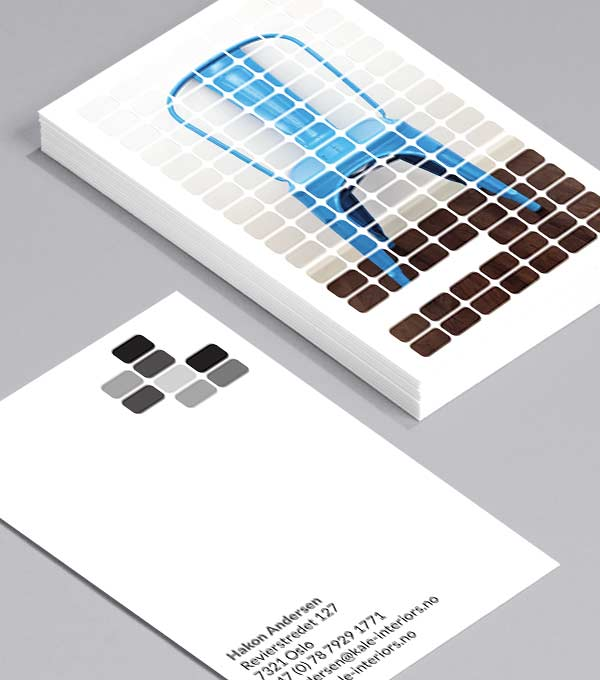 Business Card designs - Blocked Up