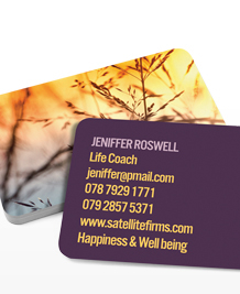 Preview image of Business Card design 'Nature's Delight'