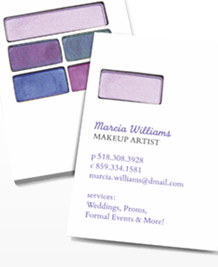 Preview image of Business Card design 'Perfect Palette'