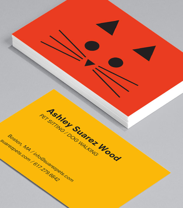 Business Card designs - Pet Print