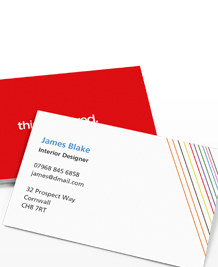Preview image of Business Card design 'This is not a Rainbow'