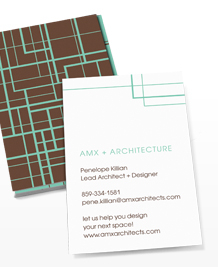 Preview image of Business Card design 'Intersections'