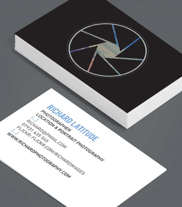 Business Card designs - Aperture