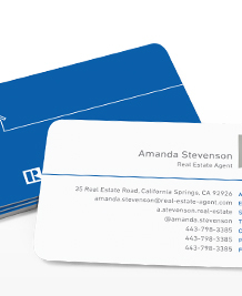 Preview image of Business Card design 'The Big Blue House'