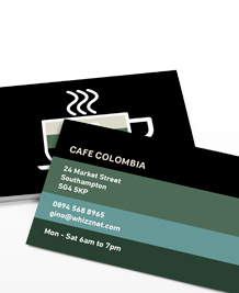 Preview image of Business Card design 'Which coffee are you?'