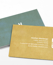 Preview image of Business Card design 'Monogram'