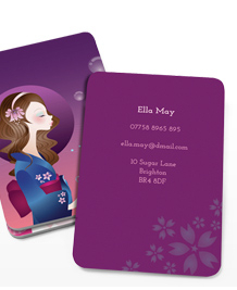 Preview image of Business Card design 'Cute Cartoons'