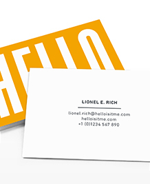 Business Card designs - Hello