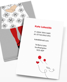 Preview image of Business Card design 'Jo Askey'