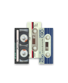 Preview image of MiniCard design 'I made you a mixtape'