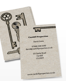 Preview image of Business Card design 'Seen my keys?'