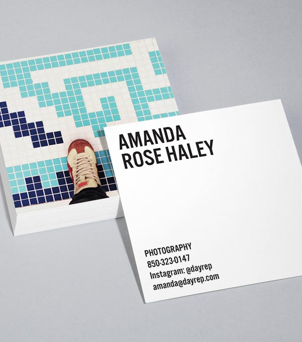 Browse square business card design templates moo united states if the shoe fits reheart Images
