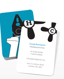 Preview image of Business Card design 'Tool tips'