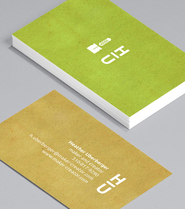 Business Card designs - Monogram