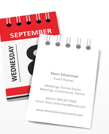 Preview image of Business Card design 'Today's the day'