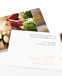 Preview image of Business Card design 'Slice of Life'
