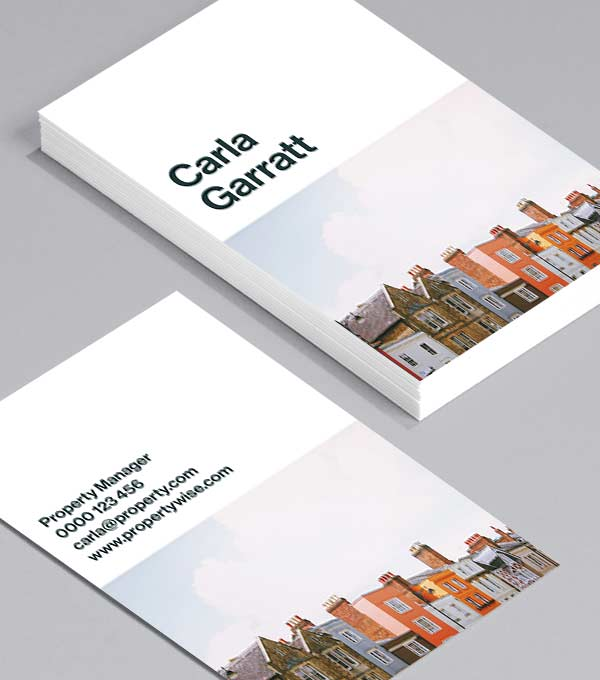 Business Card designs - Half and Half