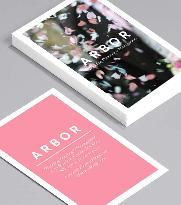 Business Card designs - Arbor