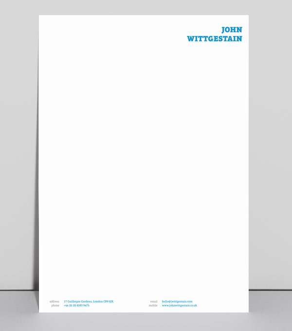 browse letterhead design templates moo united kingdom