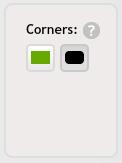 Rounded Corner swap