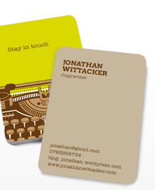 Preview image of Business Card design 'Stay in touch'