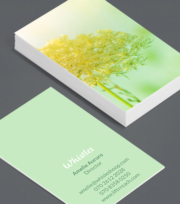 Business Card designs - Late Bloomers